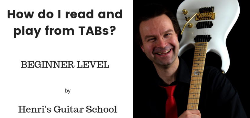 How to read and play from TABs