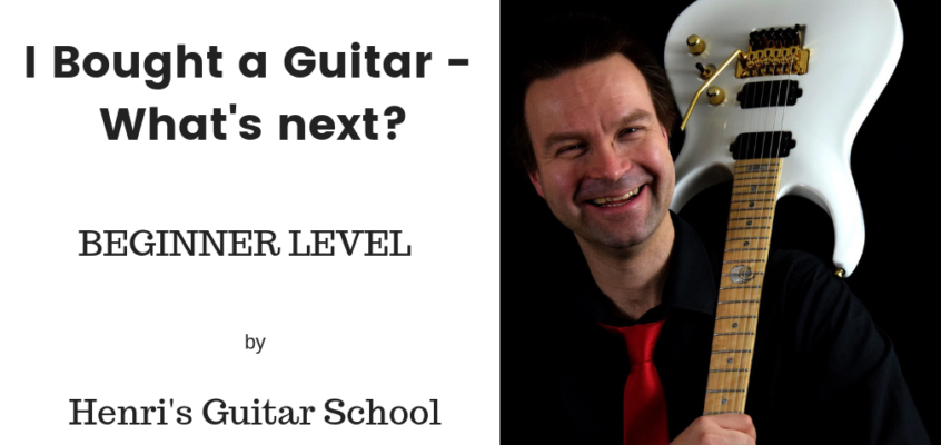How to Play the Guitar? First steps!